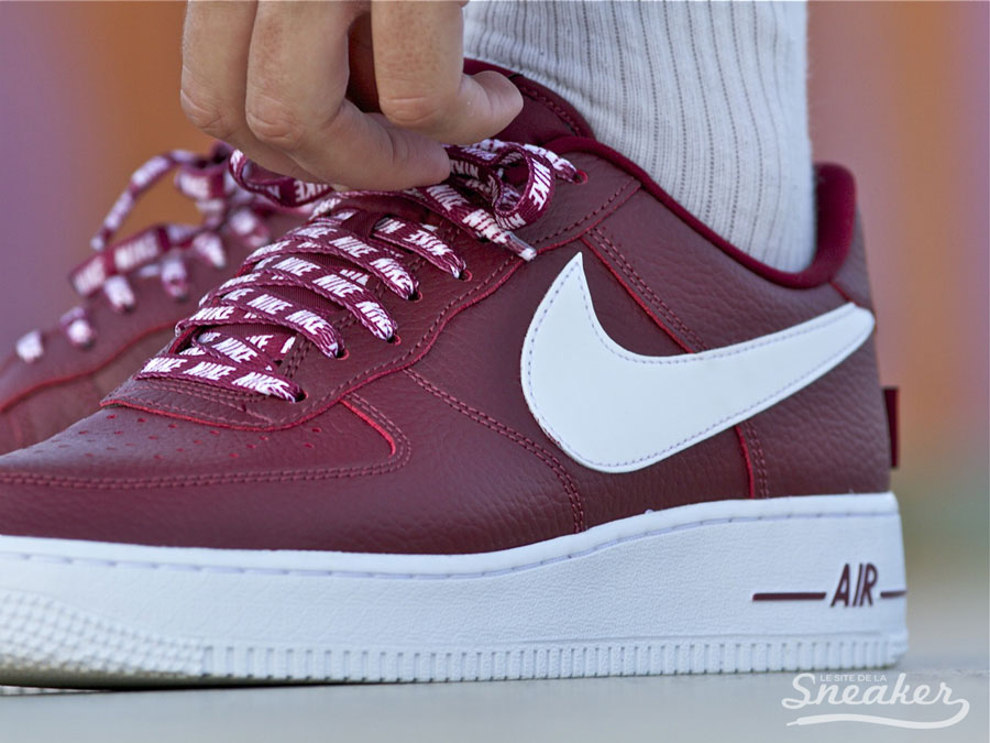 air force 1 rouge bordeaux