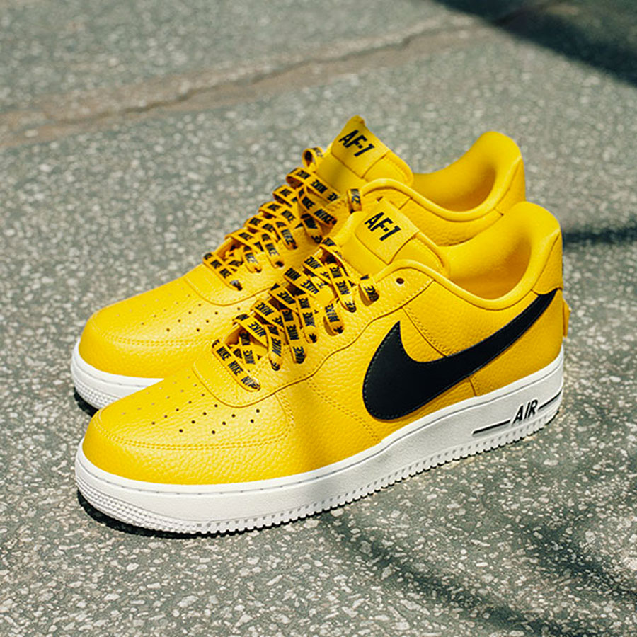 nike air force 1 low homme jaune