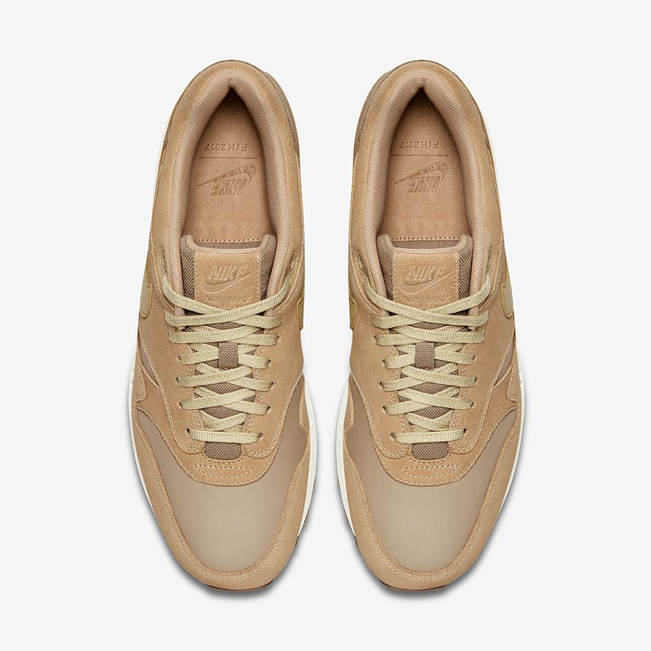 nike air max premium leather beige