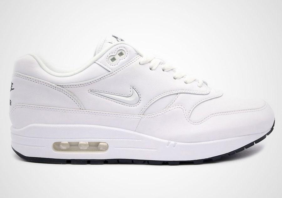 Nike Air Max 1 Premium SC (White Black)