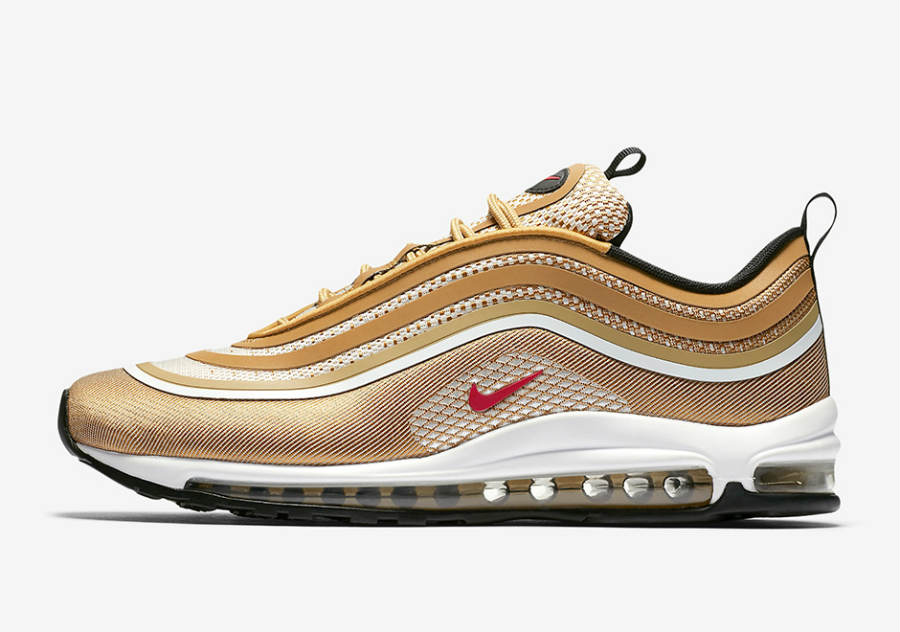 Remise Nike Wmns Air Max 97 Ultra 17 Femme Metallic Rouge