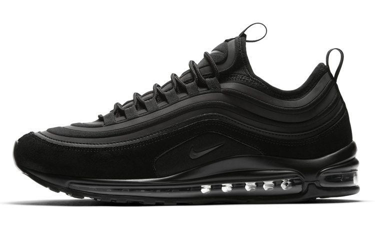 Preview: Nike Air Max 97 Ultra Suede Triple Black Le Site