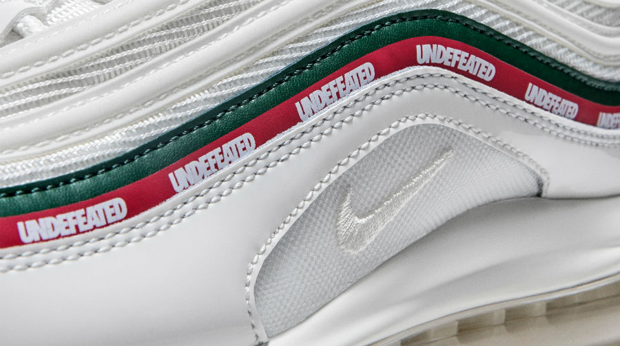 new products a713c 7f923 Undefeated x Nike Air Max 97 White