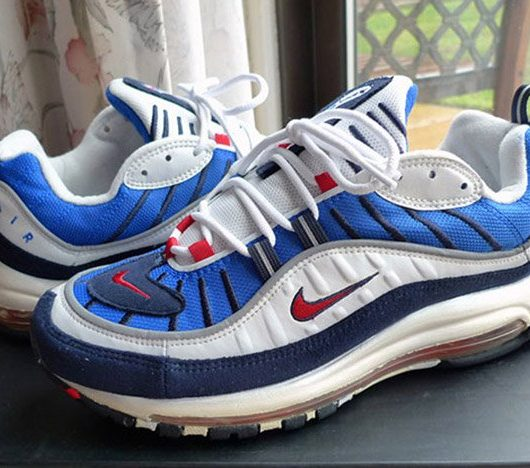 nike air max 98 blue red