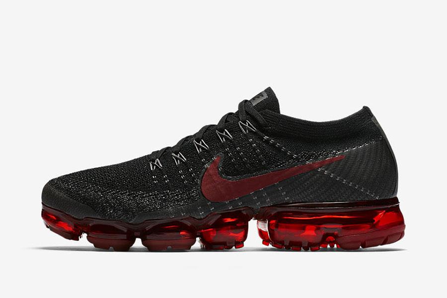 02c40d7deb6 Nike Air VaporMax Black Dark Team Red - Le Site de la Sneaker