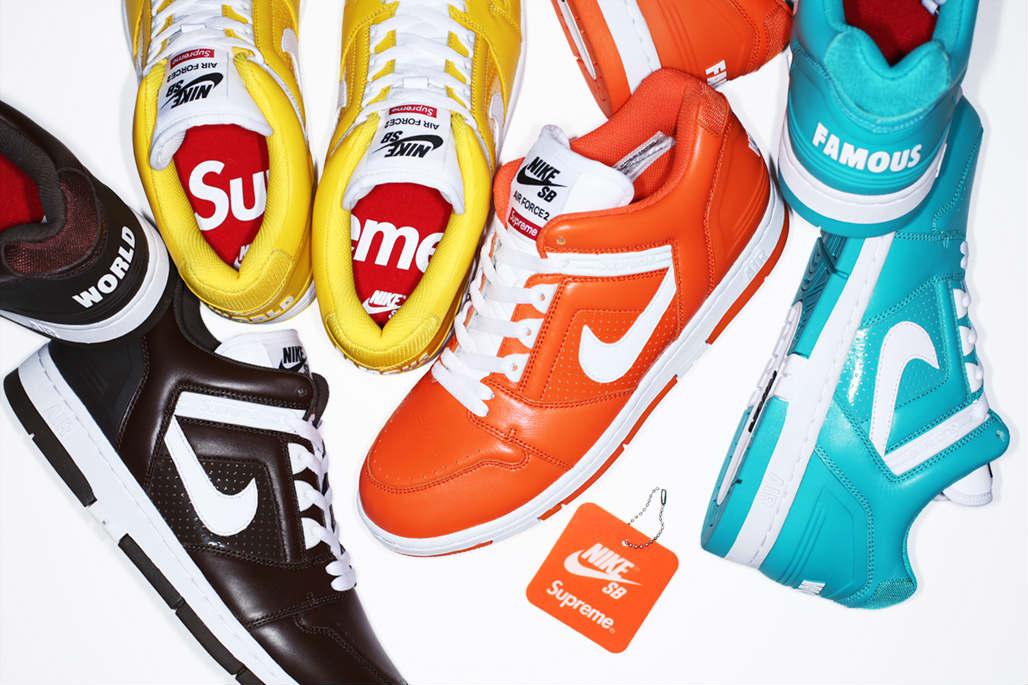 Nike Air X Sb Supreme Force 2 Collection A5RjL4
