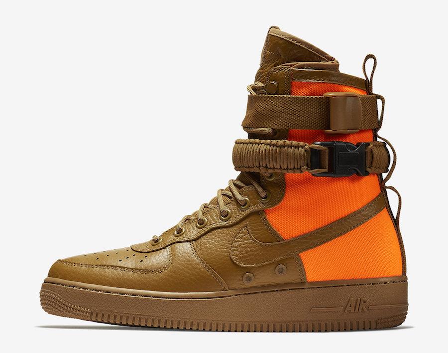 Ochre Sf Af1 Mid Desert Nike 2WDHIE9