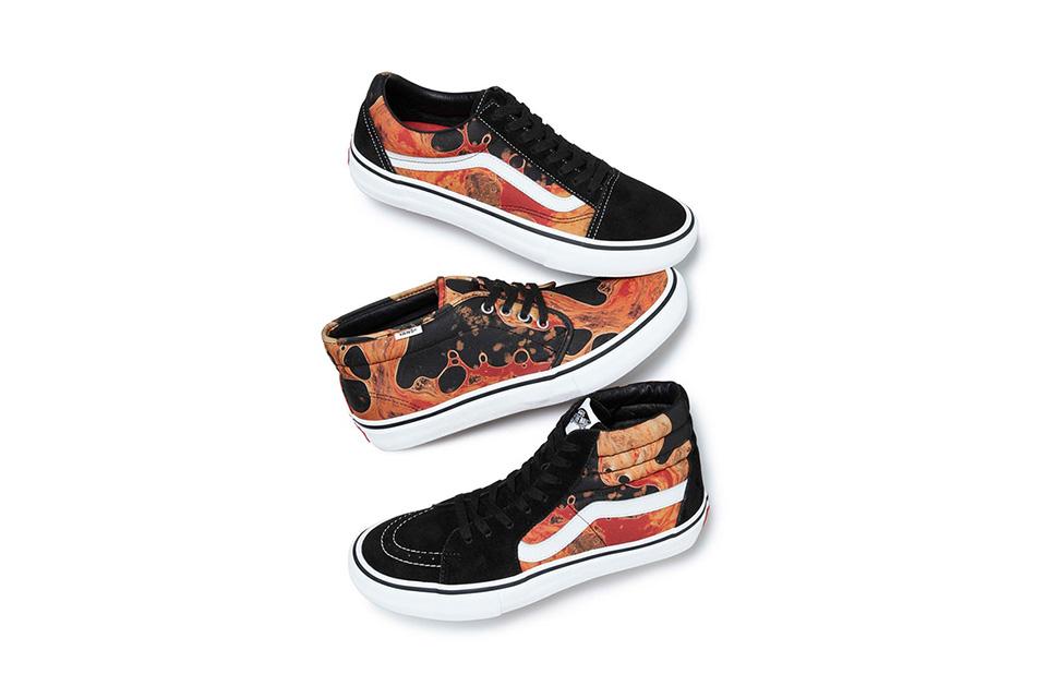 Vans Old Skool Supreme x Andres Serrano Blood and Semen II