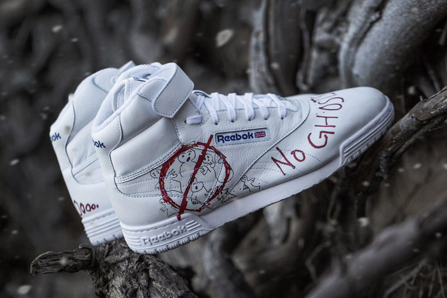 BAIT x Stranger Things x Ghostbusters x Reebok Ex O Fit Clean Hi