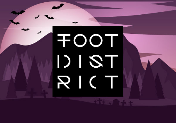 foot district code promo halloween 2017