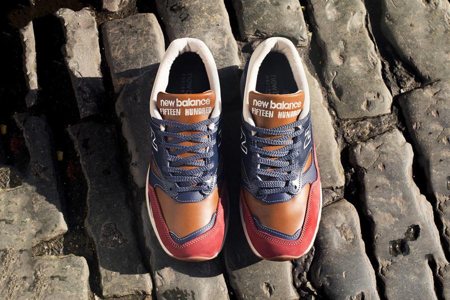 new balance femme bleu marine et orange