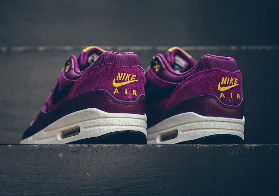 air max bordeaux en cuir