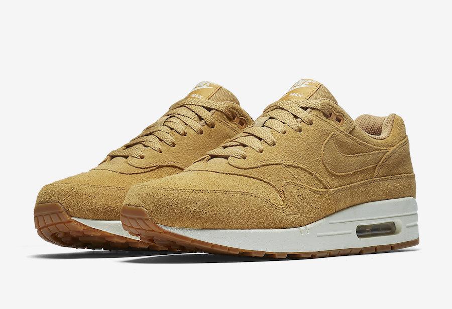 Nike Air Max 1 Premium | Marron | Baskets | 875844 203
