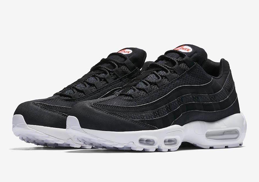 Preview: Nike Air Max 95 Premium Black White - Le Site de la Sneaker