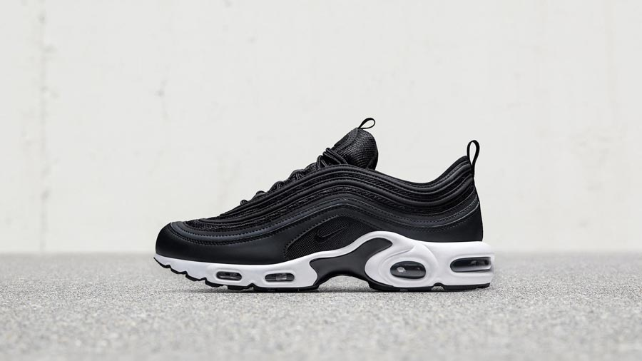 various colors 264dd cc3df NikeLab Air Max 97 Plus Black White