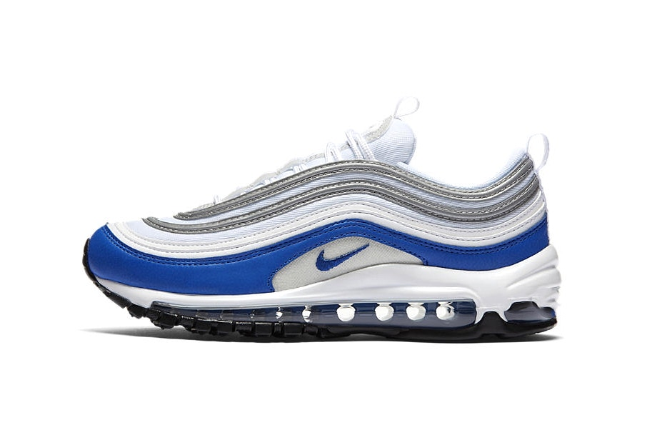 air max 97 blanc bleu rouge