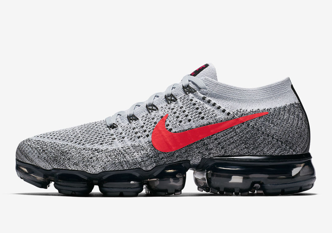 Y Penetración Supresión  Nike Air VaporMax OG Platinum Red - Le Site de la Sneaker