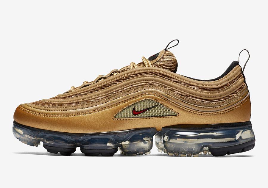 Nike Air VaporMax 97 Metallic Gold - Gov