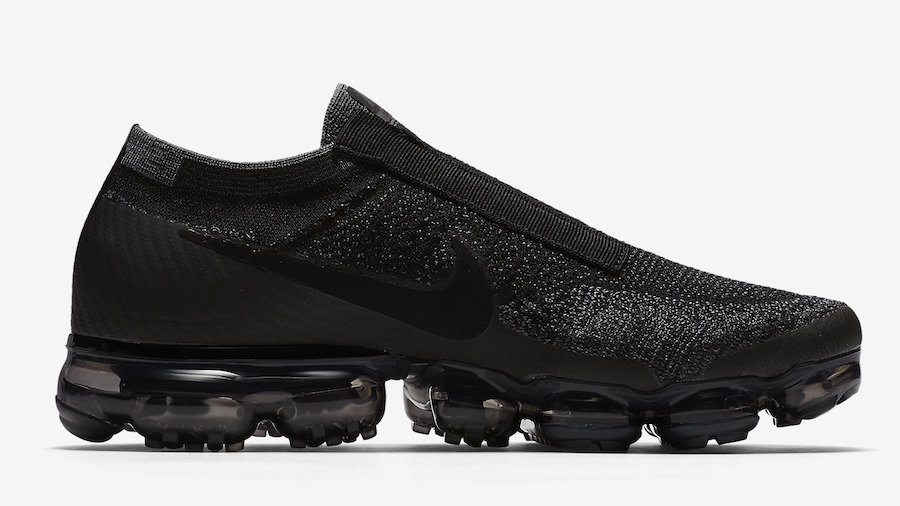 28b0873b9a2 Nike Air VaporMax Laceless Black Night - Le Site de la Sneaker