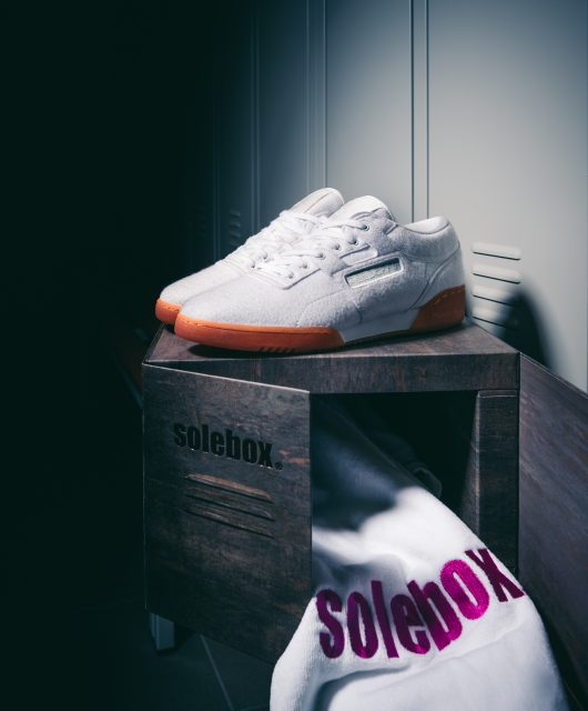 huge discount 584e9 03a0e Solebox x Reebok Classics Workout Lo Year of Fitness
