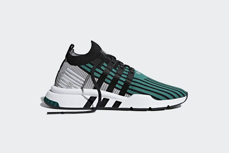 adidas EQT Support ADV Mid Black Green
