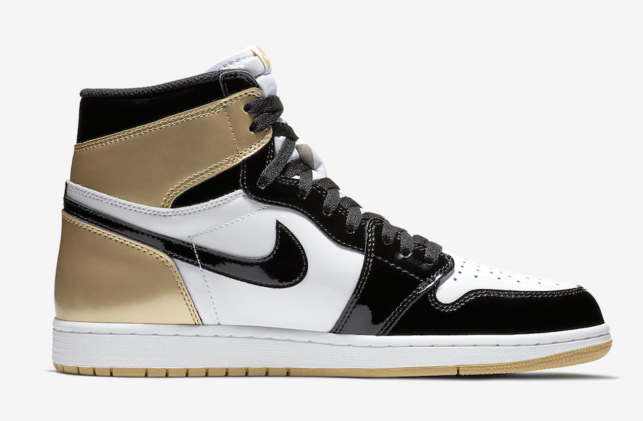 Air Jordan 1 Top 3 Gold Black