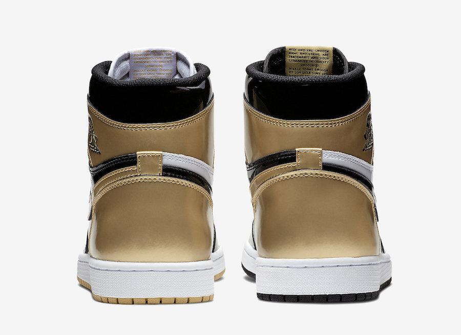 d3497991d6ed Air Jordan 1 Top 3 Gold Black - Le Site de la Sneaker