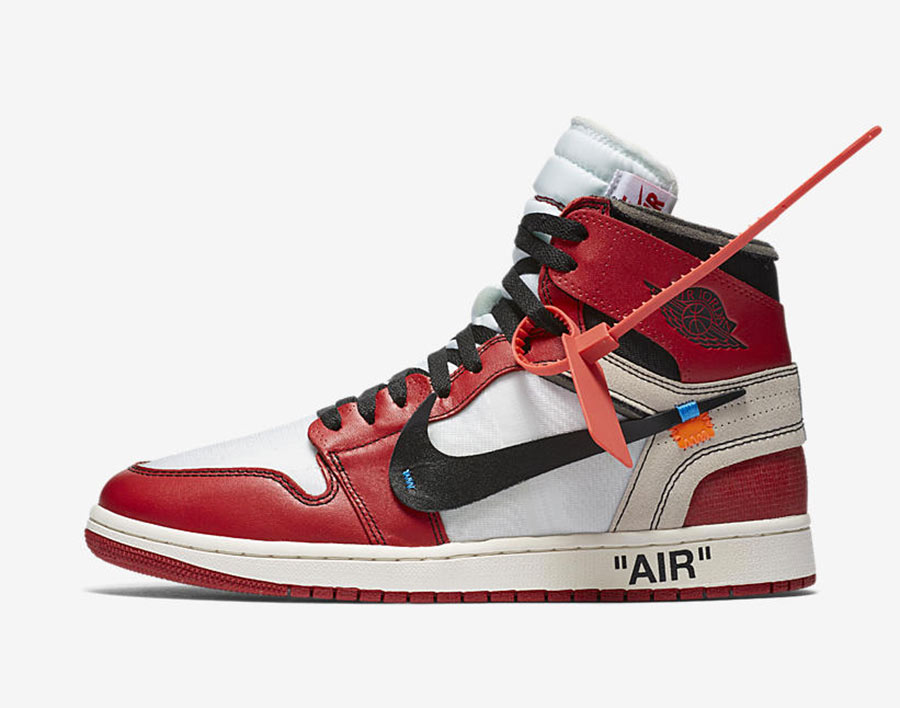 2nike off white air jordan 1