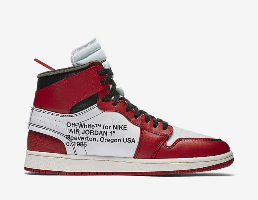 brand new 7a954 7d1d9 Off-White x Air Jordan 1