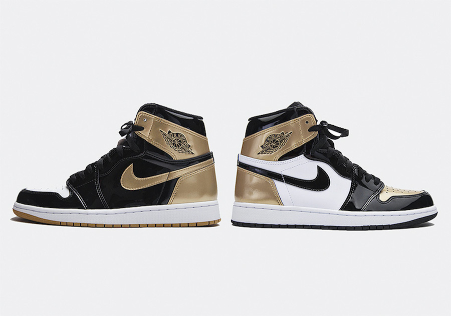 Air Jordan 1 Top 3 BlackGold Le Site de la Sneaker