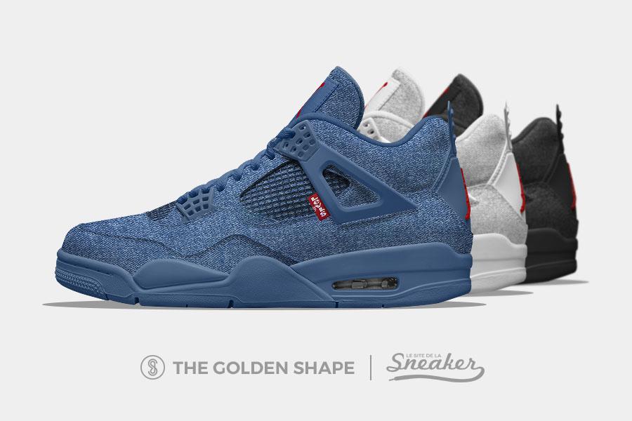 4 Sneaker La Sur Trois 2018 Jordan Air En Levi's Une Le Site De Collab n8mv0wON