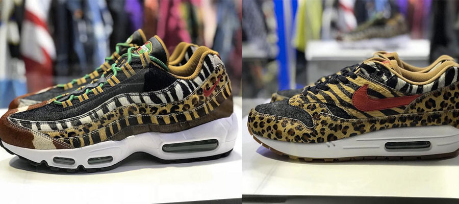best sneakers ee6c3 2b72e Le retour des Atmos x Nike Air Max 1   95 Animal Pack