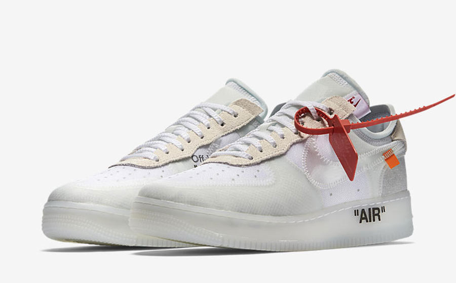 Brand New OFF WHITE x Air Force 1 Low