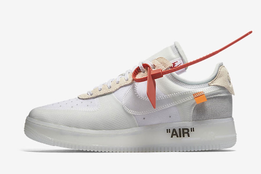 Off White x Nike Air Force 1 Low The Ten