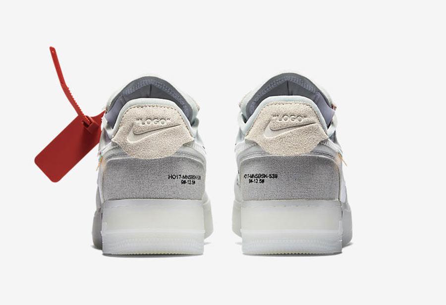 768df4458de8 Off White x Nike Air Force 1 Low The Ten - Le Site de la Sneaker