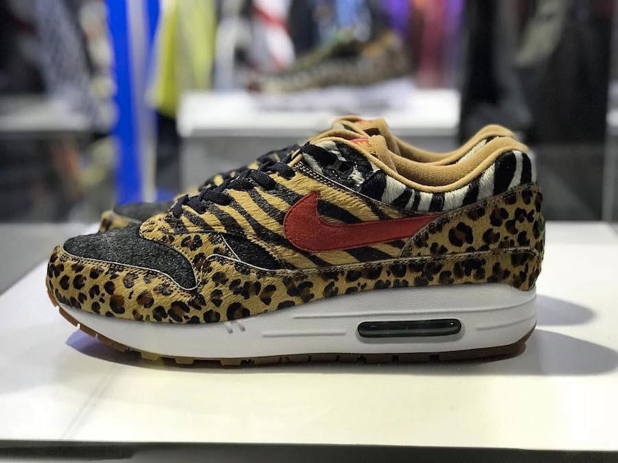 meilleure sélection cdb2f 528ae Le retour des Atmos x Nike Air Max 1 & 95 Animal Pack - Le ...