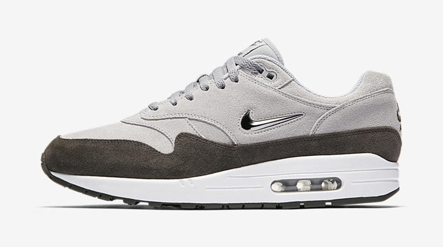 énorme réduction bc610 57eaf Nike Air Max 1 Premium SC Jewel Wolf Grey