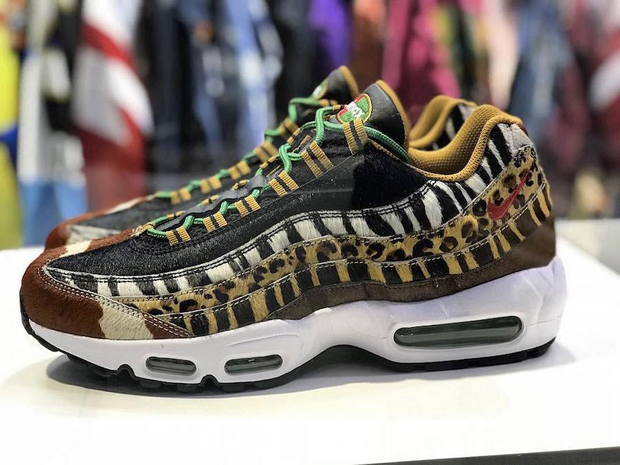 the best attitude 81aba 6684b Le Nike x Atmos Animal Pack sortira officiellement le 17 mars sur Nike.com,  au prix de 250€ (AM95) et 160€ (AM1), et chez une sélection de shops.