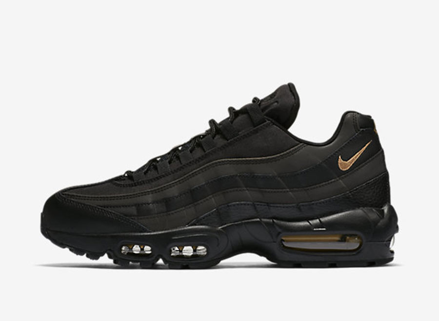 the latest bc714 6a9bf Nike Air Max 95 SE Black Gold