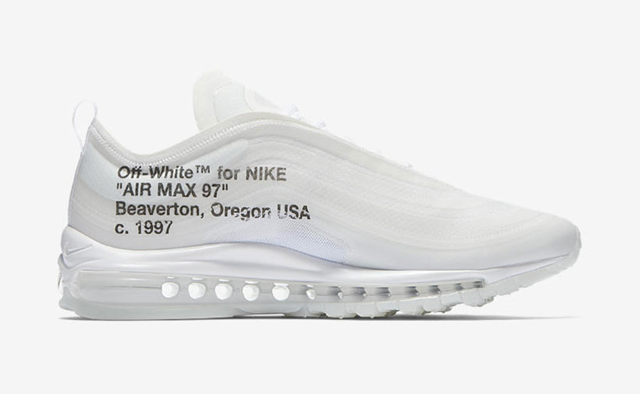 Off White x Nike Air Max 97 The Ten