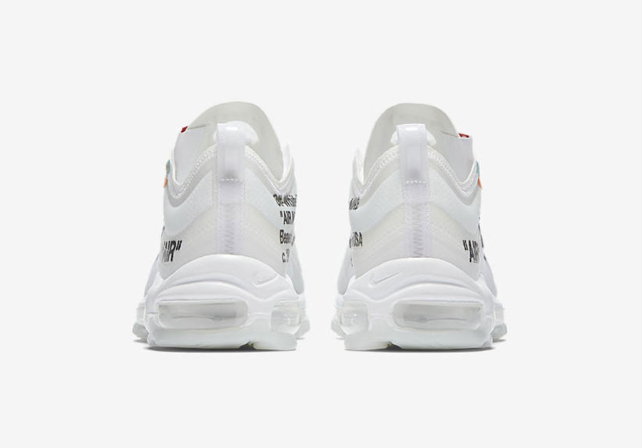 b0c569a34c Off White x Nike Air Max 97 The Ten - Le Site de la Sneaker