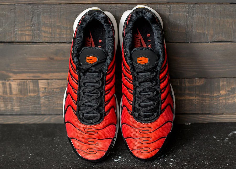 Nike Air Max TN Black Red Orange
