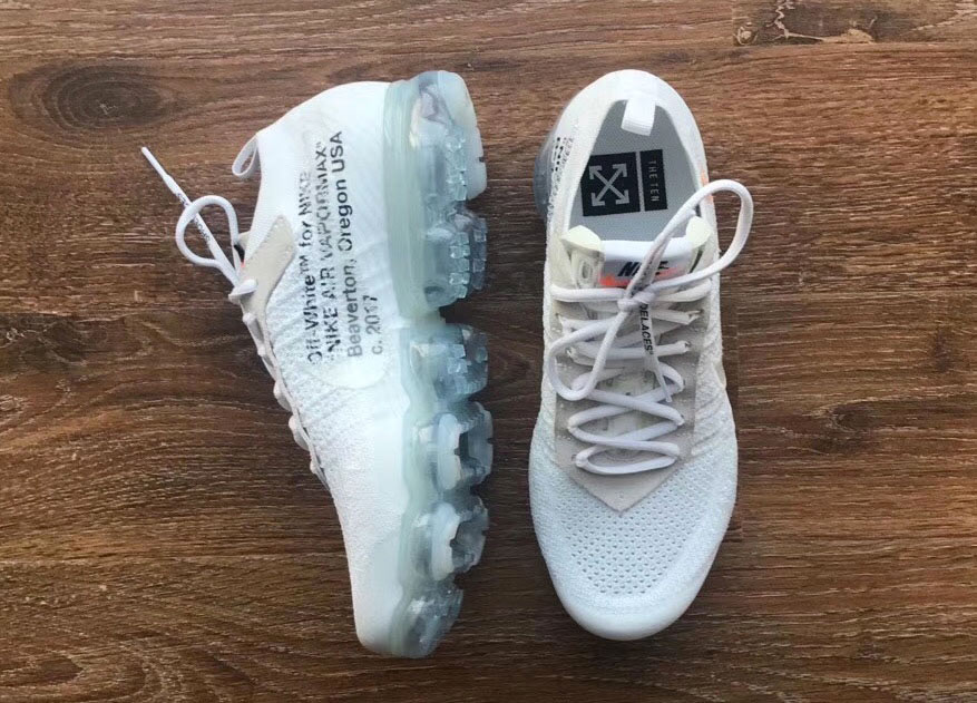 vapormax blanche off white