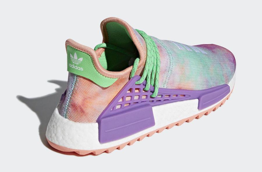 0573b8c68fa41 Pharrell x adidas NMD HU Holi MC Flash Green - Le Site de la Sneaker