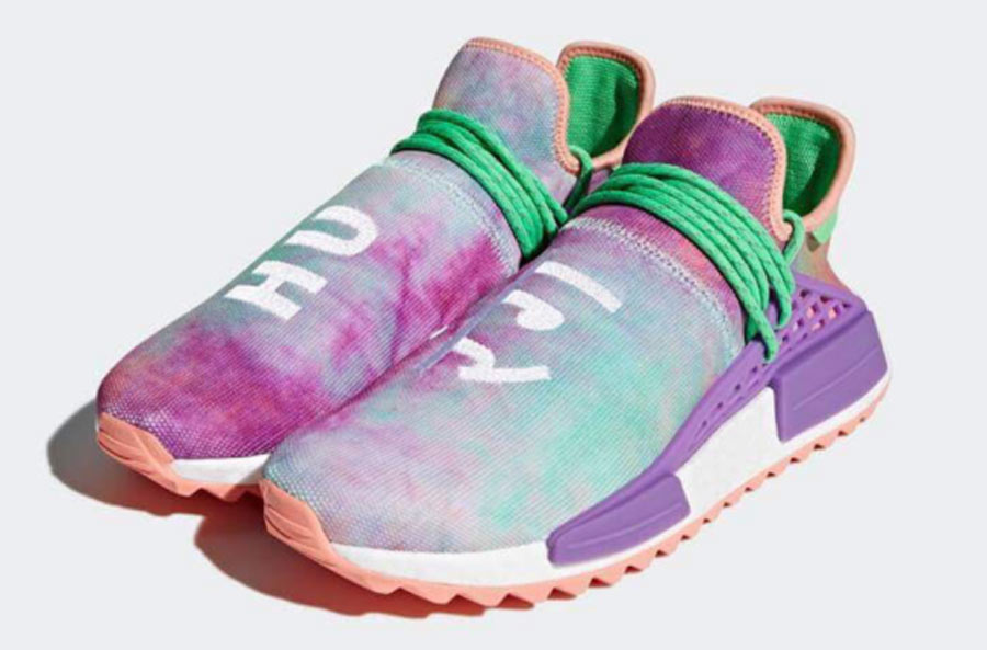 b039d2a645907 Pharrell x adidas NMD HU Holi MC Flash Green - Le Site de la Sneaker
