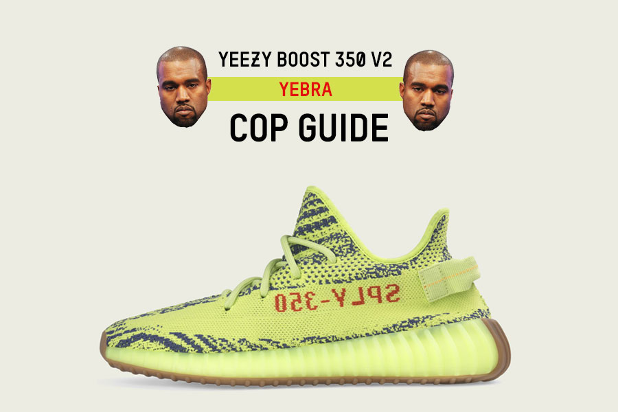 adidas Yeezy Boost 350 V2 Yebra Cop Guide