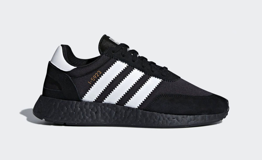 Preview: adidas I 5923 Iniki Boost Black Le Site de la Sneaker