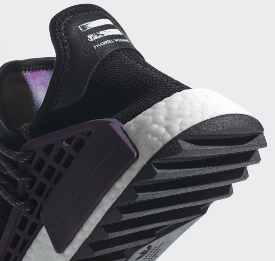 outlet store 87e79 41609 Pharrell x adidas NMD HU Holi MC Deepest Purple