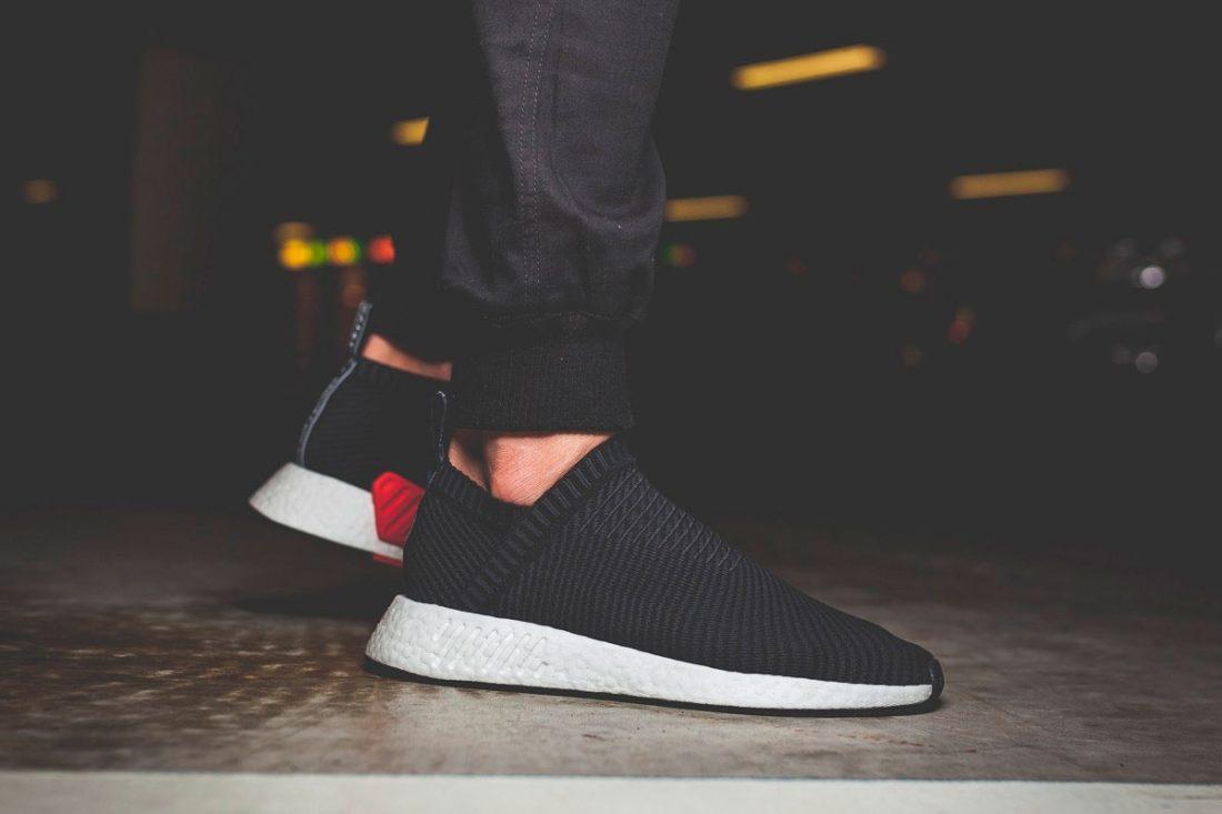 adidas Originals NMD CS2 Black Carbon Red - Le Site de la Sneaker