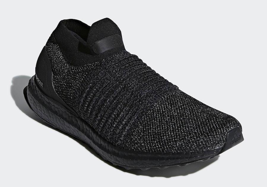 Adidas Ultra Boost Trippel Svart Laceless DnncIEQZ